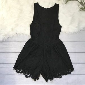 [For Love And Lemons] Lace Romper